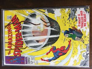 Amazing spider-man #61 1st Gwen Stacy cover