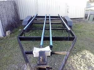 "HEAVEY DUTY 20FT BOAT TRAILER/DUEL WHEELS ""BARGAIN"" Helensvale Gold Coast North Preview"