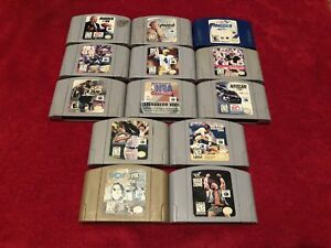 Nintendo 64 Games (Sports)