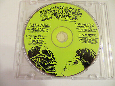 VICTORY RECORD'S NEW MUSIC SAMPLER - CD 2004 - Silverstein/Straylight -