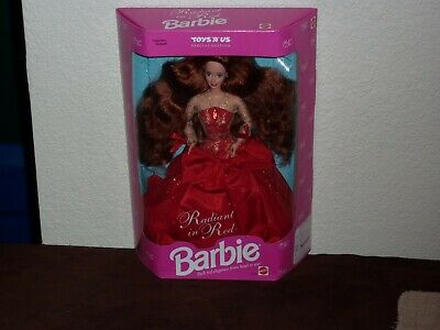 Barbie Radiant In Red Special Edition 1992 Mattel 1276 Toys R Us