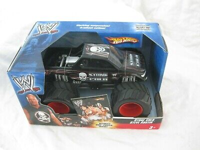 Hot Wheels Monster Jam Diecast WWE Wrestling Stone Cold 1:24 Scale Mint Package