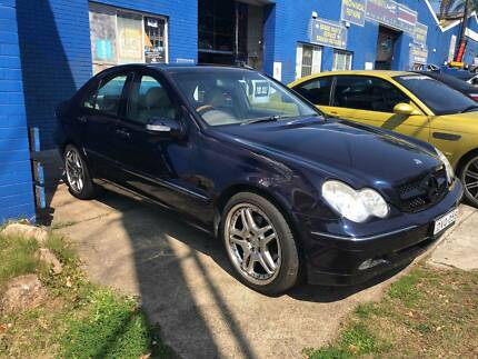 MERCEDES BENZ C CLASS 2002 C200 KOMPRESSOR AUTOMATIC LONG REGO Northmead Parramatta Area Preview