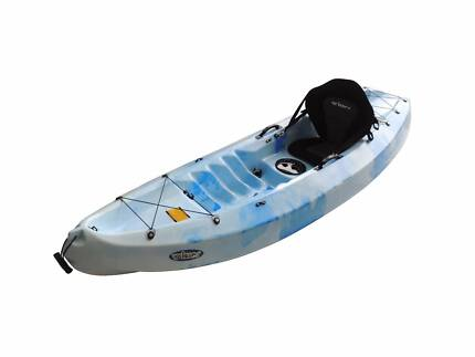 New Velocity Single Kayak Backrest and Paddle