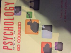 Psychology In Modules: Eleventh Edition