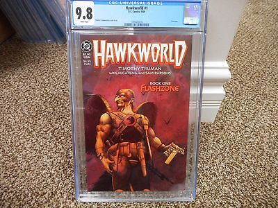 Hawkworld #1 cgc 9.8 DC movie Justice League of America WHITE pages 1989 Hawkman