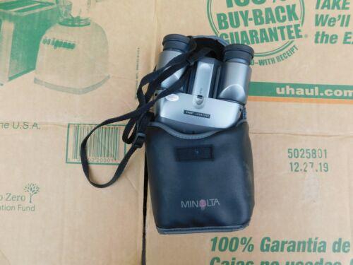 Vintage Minolta AF 10 10X23 True Auto Focus Binoculars w/Case Neck Strap