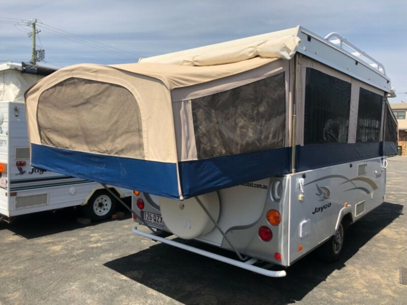 2009 Jayco swan Wind up camper | Caravans | Gumtree