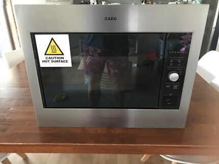 AEG Built in Microwave and Grill