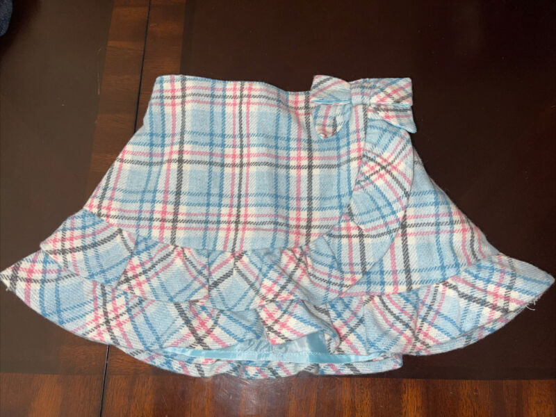 Janie and Jack baby girl skirt 6-12 months old  50% WOOL