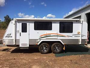 Jayco Discovery Outback Pop-Top Caravan 2012 17.55-2OB Finniss Area Preview