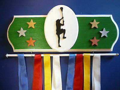 Lacrosse Sports Medal Display Hanger
