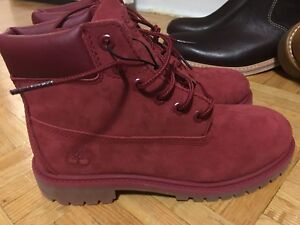 TIMBERLAND BOOTS •6 PREMIUM BOOT 10061 RED • Size 3 US •