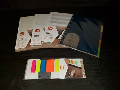 2 Arc Notebook Refill Paper 1 Arc To Do Paper Tul Tab Dividers Arc Page Flags