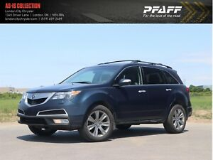 2010 Acura MDX Elite AWD, GPS, Leather, As Is