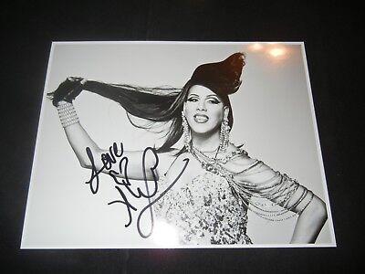 ALEXIS MATEO Signed Autograph 8.5x11 Photo RuPaul's Drag Queen Race Season 3
