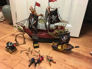 Pirate ships and accessories