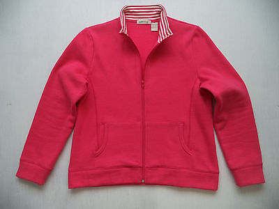 Womens ORVIS zipper camp jersey sz M lake lodge fly fishing cottage sweater top