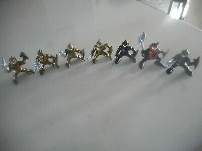 Fisher Price Imaginext 1990'S  Gold & Black Knights Figure Lot