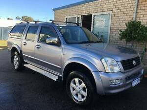 "2007 HOLDEN RODEO 4X4 DUAL CAB "" ONE OWNER"" ""LOG BOOKS"" East Rockingham Rockingham Area Preview"