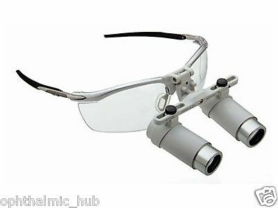 Heine 3.5x Binocular Loupe I-view Type With Accessories In Case Free Shipping