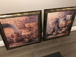 Framed Artwork Oil Paintings