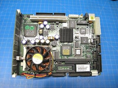 Mitac MSC-6450A Pentium Embedded Motherboard WITH CPU AND RAM VGA/LAN/AUDIO