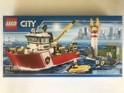 LEGO Bauanleitungen 2 and 3 Only Lego City 60109 Fire Boat Instruction Manuals 1