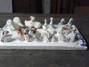 """Birds of a Feather"" Salt & Pepper sets  #101   $9 each Set Underwood Logan Area Preview"