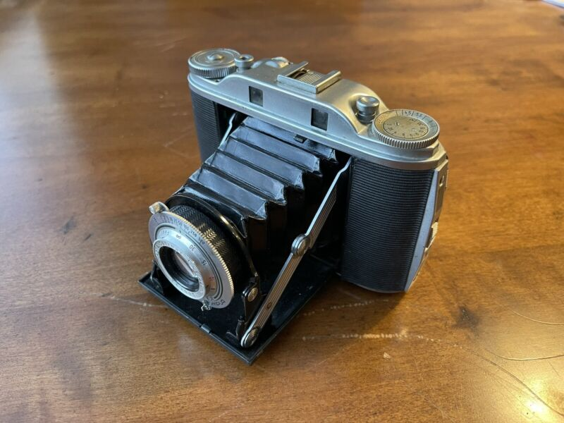 Vintage Agfa Isolette III Camera with Agfa Solinar f/4.5 85mm Lens