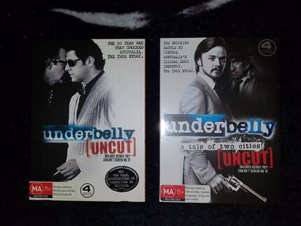 Underbelly season 1 and 2 dvd Brand New