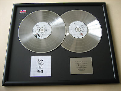PINK FLOYD The Wall DOUBLE CD DISC Platinum Presentation