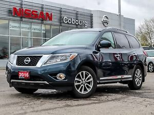 2016 Nissan Pathfinder SL Navi Leather Sunroof  FREE Delivery