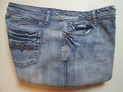 Faded Glory Capri Jeans - Faded Glory Womens Capri Jeans Plus Size 22W Inseam 22 Stretch #S1