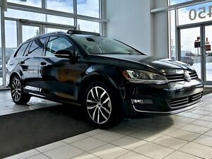 2015 Volkswagen Golf wagon Highline {Navigation, Toit Pano, Cuir