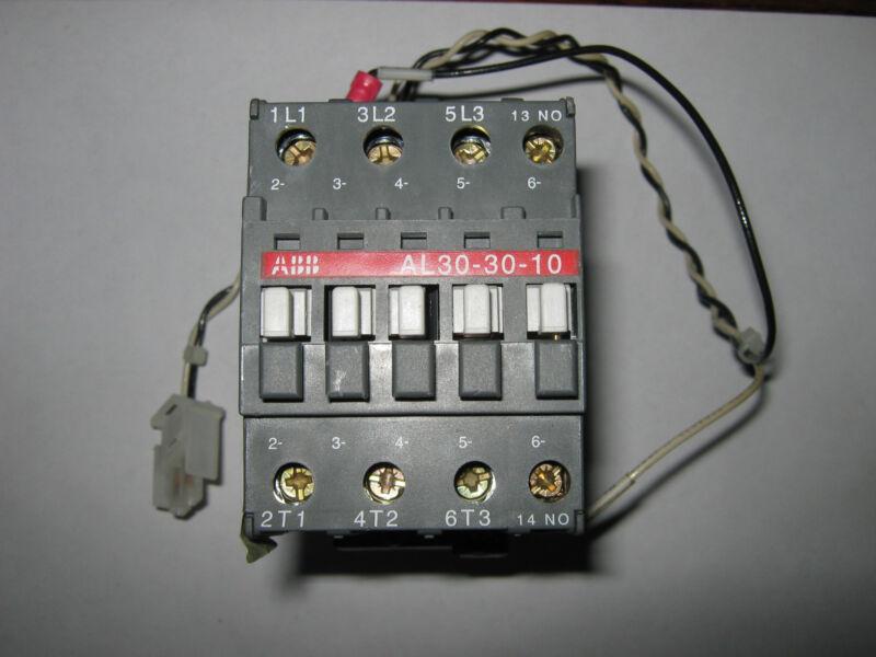 ABB  Contactor, AL30-30-10, Used