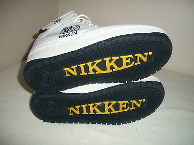 Nikken Cardiostrides - Weighted Exercise Walking Shoes - White High Top  Size 7