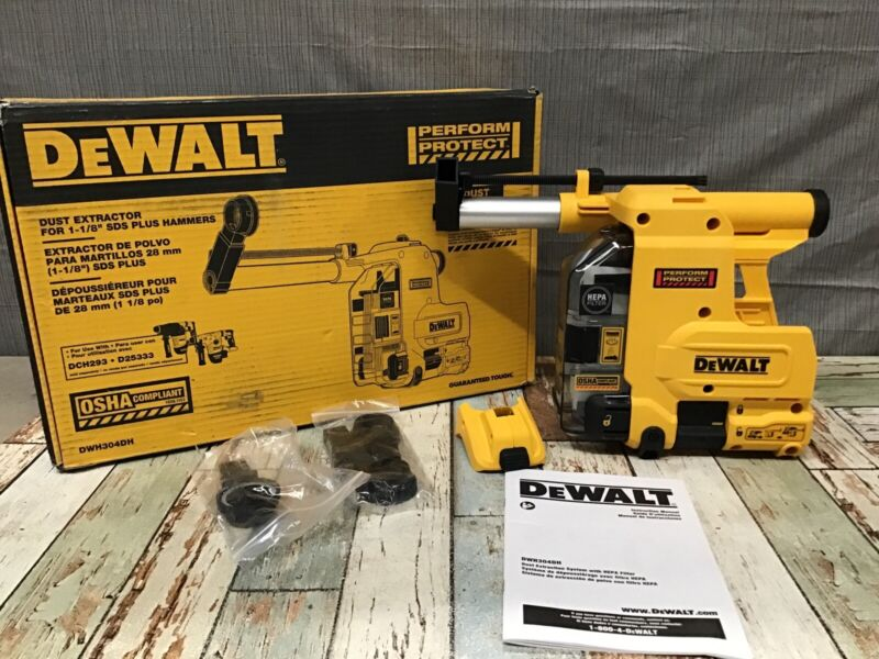DEWALT DWH304DH  Multi-Surface Dust Extractor