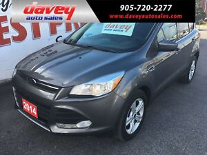 2014 Ford Escape SE 4X4, HEATED SEATS. POWER WINDOWS