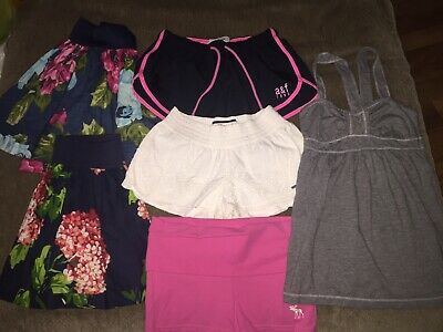 Abercrombie Girls Size Medium 10-12 Lot Of Spring Summer Clothes 6 Pieces