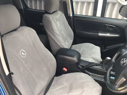 Gotya covered canvas seat covers Hilux sr5