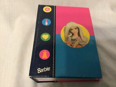 Blonde Barbie Photo Album Holds 60 Photos 4in x 6in Vintage 1998