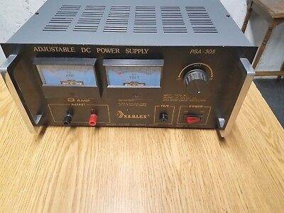 Samlex Psa-305 Adjustable Dc Power Supply 5 Amp 30 Volt - New