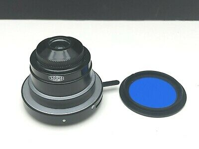 Olympus Ch2 Microscope Substage 125 Abbe Condenser Wfilter Aperture Diaphragm
