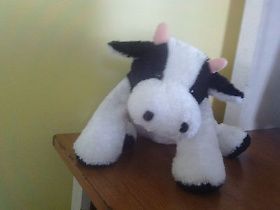 MARY MEYER FLIP FLOPS PLUSH COW CUDDLY - Cuddly Cow
