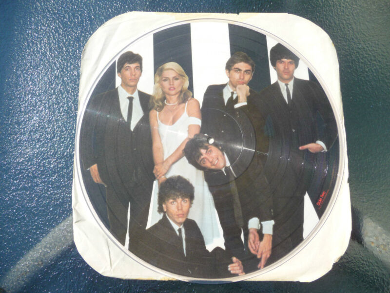 "Blondie: ""Parallel Lines/Lick"" Picture Disc 12"" LP 33Rpm PROMO Chrysalis Records"