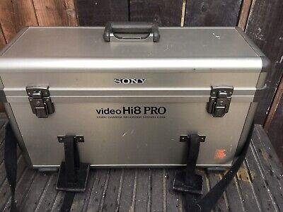 Sony Video8 Pro Video Camera Hard Sturdy Heavy-duty Case Ideal For Medium Format