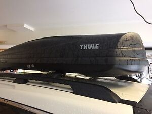 THULE rooftop carrier for rent