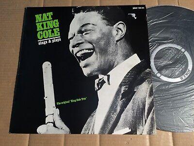 NAT KING COLE - SINGS & PLAYS - LP - JOKER SM 3611 - ITALY