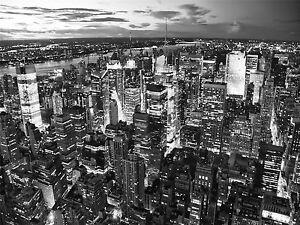 PHOTO CITYSCAPE NEW YORK CITY USA MANHATTEN SKYLINE SKYSCRAPER POSTER BMP10031